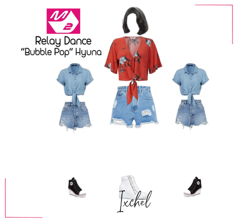 "Ixchel M2 Relay Dance | ""Bubble Pop"" Hyuna"