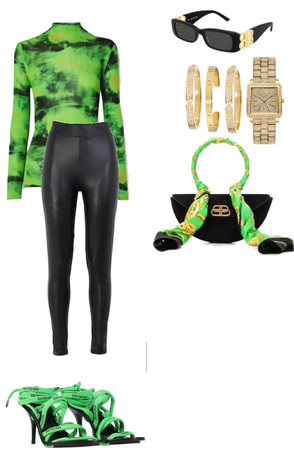 green festive