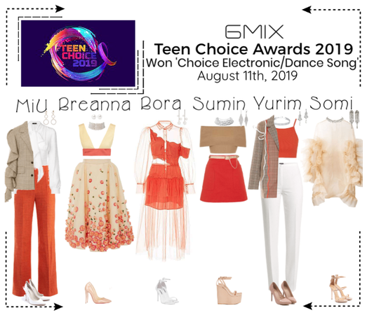 《6mix》Teen Choice Awards 2019