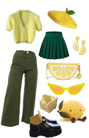 lemon outfit (non-binary)