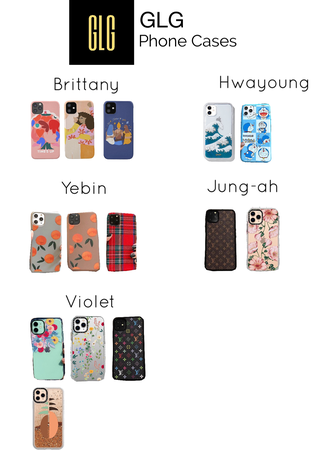 GLG Phone Cases Collection