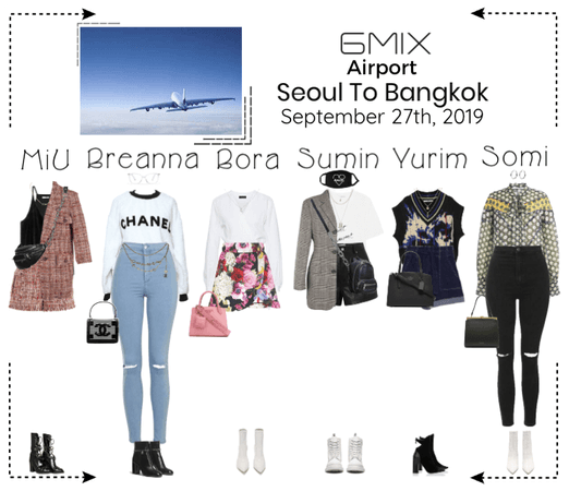 《6mix》Airport | Seoul To Bangkok