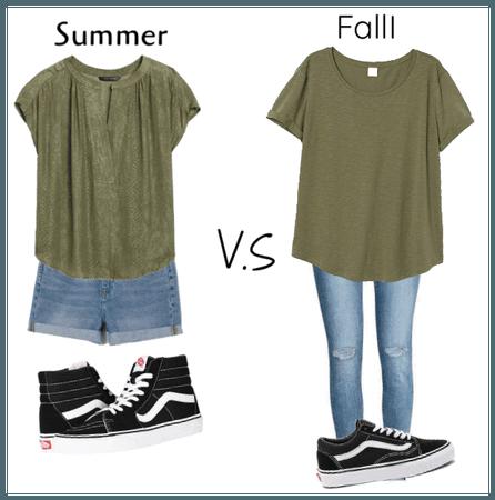 Summer vs. Fall