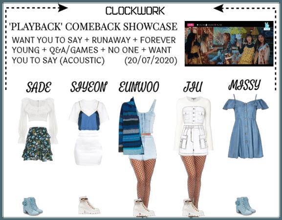 *CWK* | 'PLAYBACK' COMEBACK SHOWCASE