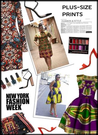 NYFW Street Trend: Plus Size Prints