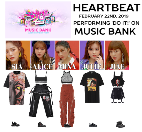 [HEARTBEAT] 'DO IT!' MUSIC BANK STAGE