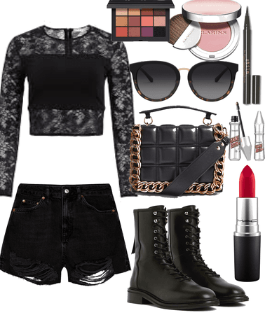 black Basic outfits