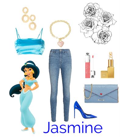 Jasmine's going casual