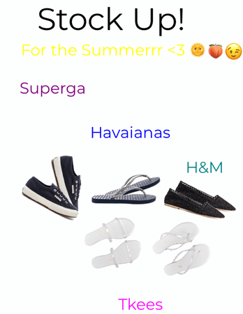 shoes you NEED to stock up on this summer 🌞 >3