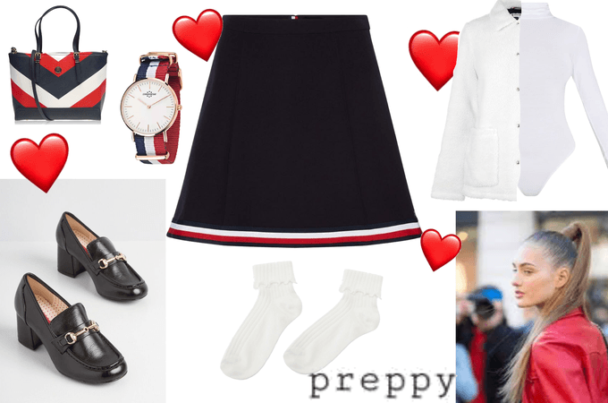 Preppy Tommy Hilfiger for @halo_angel_42
