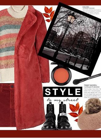 Winter fuzzy coat