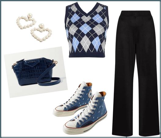Knitwear, but Make it School Uni Inspired