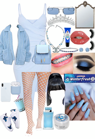 Blue Spoiled Princess 👑 💙🖇