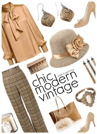 National Hat Day/Vintage Chic Style