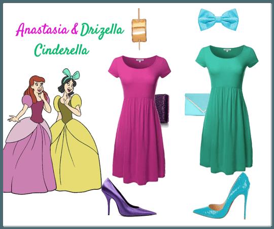 Anastasia and Drizella