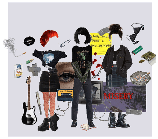 Punk trash