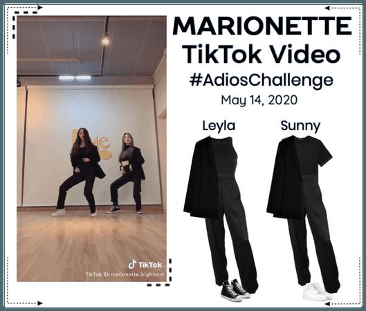 MARIONETTE (마리오네트) [LEYLA & SUNNY]TikTok Challenge