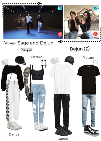 Vlive- Sage and Dejun hangout
