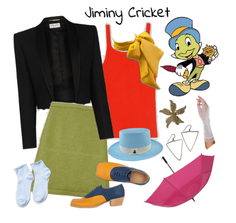 Jiminy Cricket outfit - Disneybounding - Disney