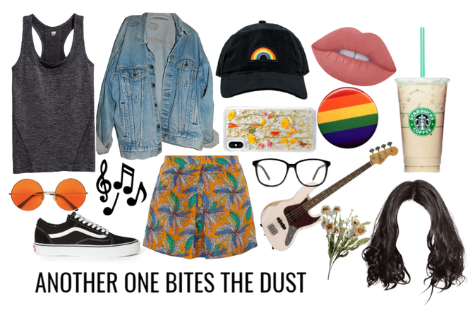 Another one bites the dust Aesthetic