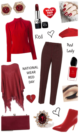 WEAR RED DAY STYLE
