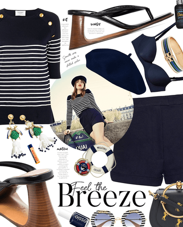 breezy stripe