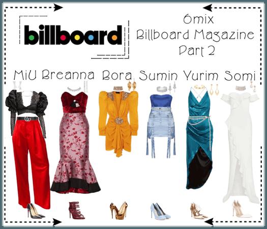 《6mix》Billboard Magazine Photoshoot (Part 2)