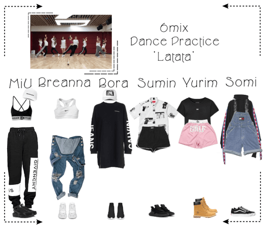 《6mix》'Latata' Dance Practice