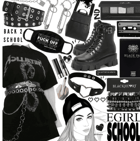 Back 2 school e girl