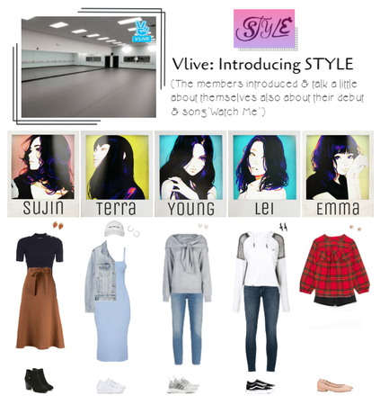 STYLE's First Vlive: Introducing STYLE