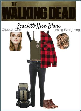TWD OC-Scarlett-Rose Blanc