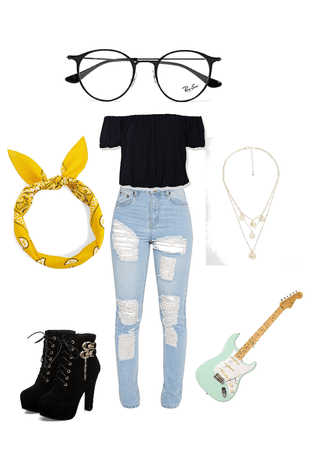 cute little teenage outfit