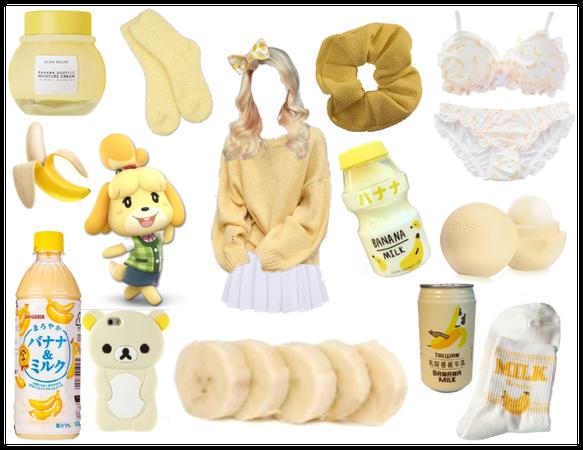Banana Milk Babe