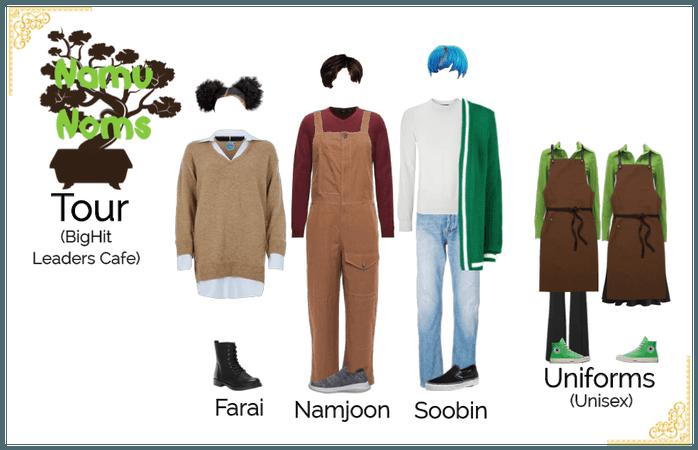 Namu Noms Tour | Farai, Namjoon, & Soobin