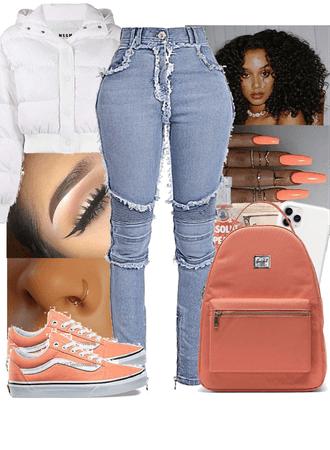 peaches and cream🤍🍑