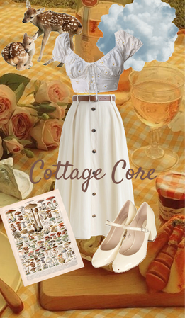 Cottage Core outfit