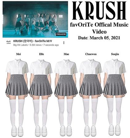 KRUSH Favourite Music Video