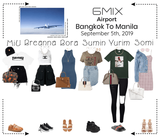 《6mix》Airport | Bangkok To Manila