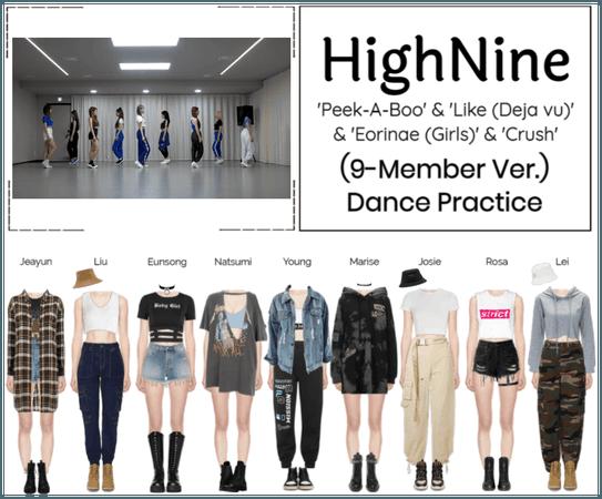 HighNine (하이 나인) 'LOVE NINE' 2 Dance Practice