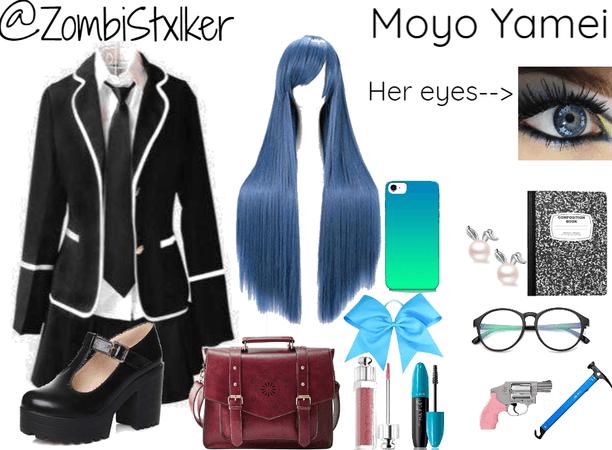 Shadow Hunters OC: Moyo Yamei's school uniform (human)