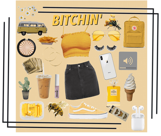 Yellow obsessed x