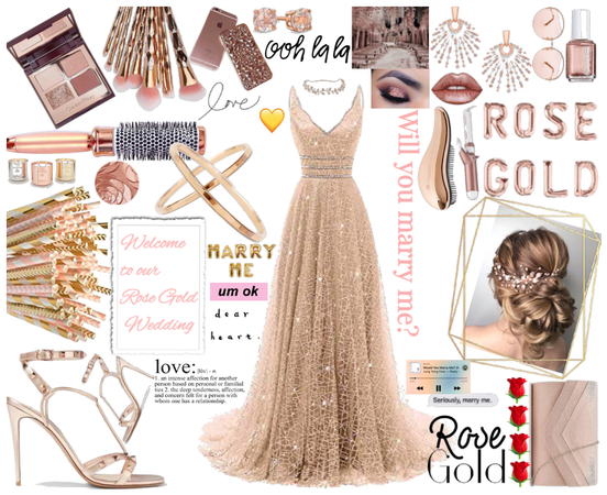 My Rose Gold Bride