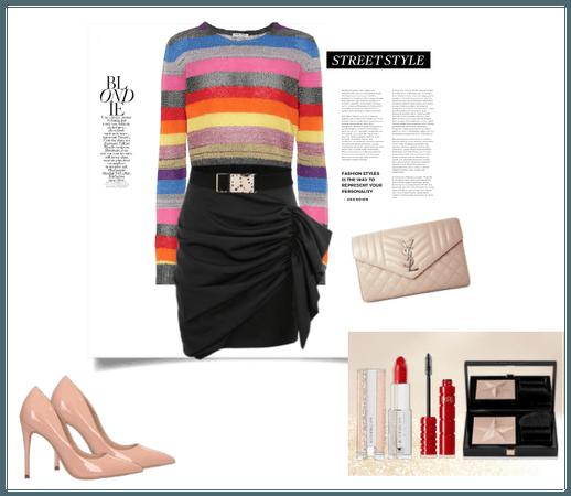 style the rainbow