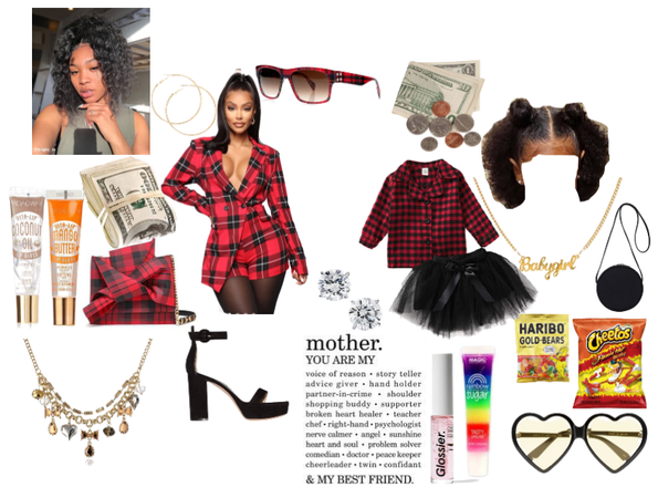 M&D!!!/Mommy Daughter Tingz!, And #RedPlaid