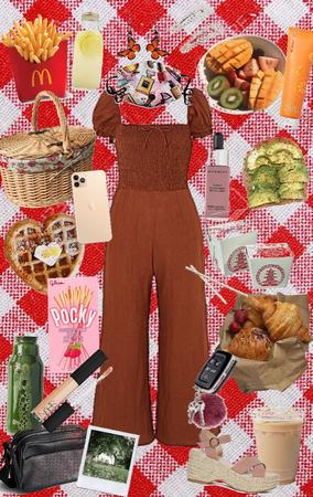 brunch picnic w/ best friend