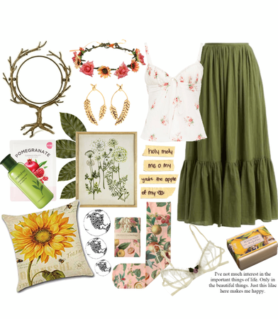 DEMETER CABIN: The Floral Flirty Girl