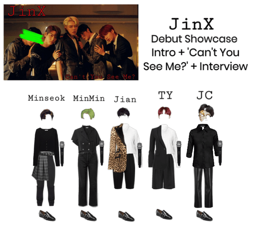JinX Debut Showcase