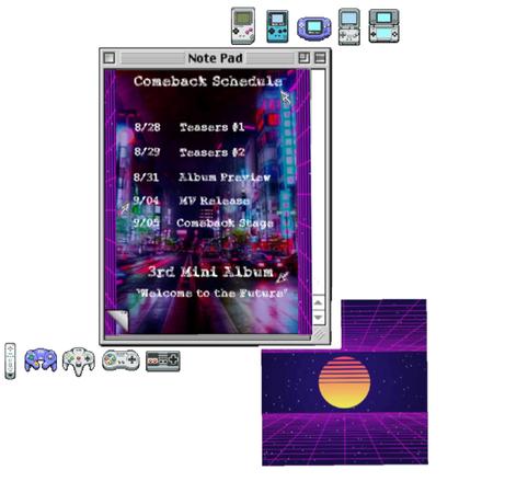 Lynx//3rd Mini Album Comeback Schedule