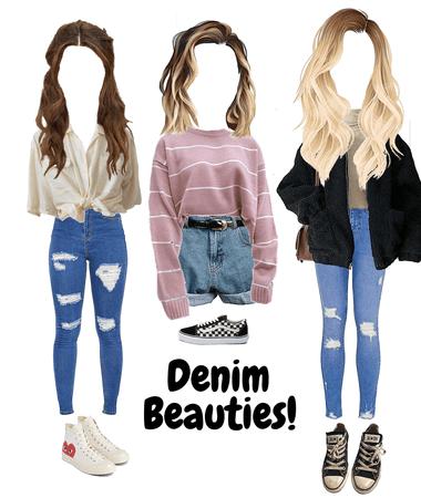 Denim Beauties!💕😊