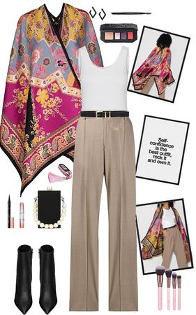 A Khaki & Paisley Caper